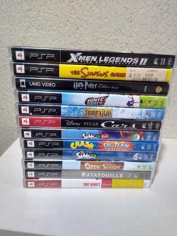 Jogos de PSP originais - Foto 2