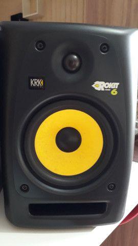 Monitor de referência KRK Rokit 6 2 geração - Foto 4