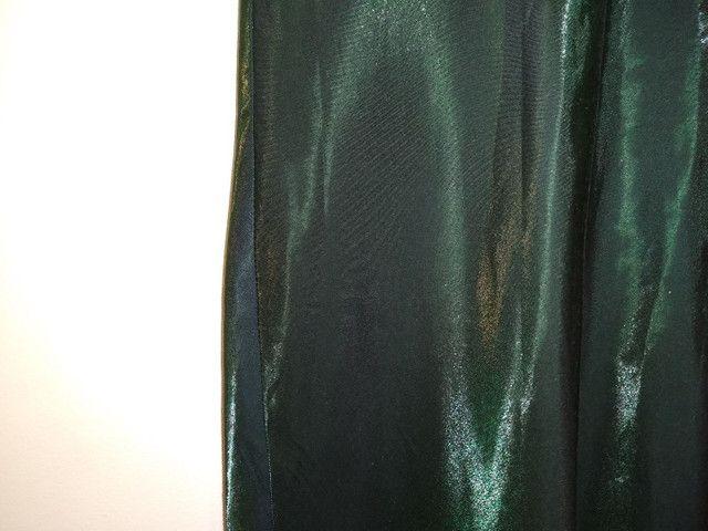 Vestido de festa longo verde - Foto 4
