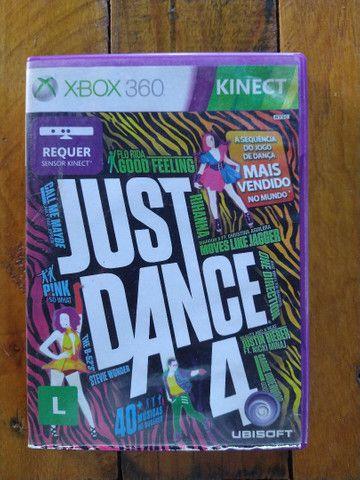 Just Dance 4 original - usado R$85