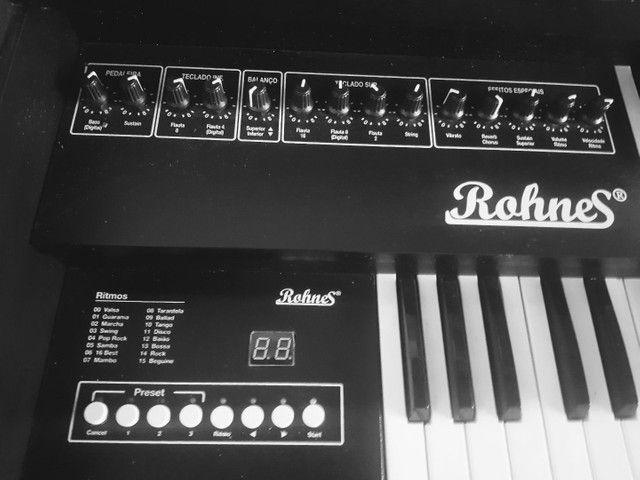 Vendo órgão ROHNES - Foto 5