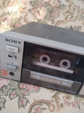 Tapedeck Sony TC-FX510R(leia a descrição) - Foto 2