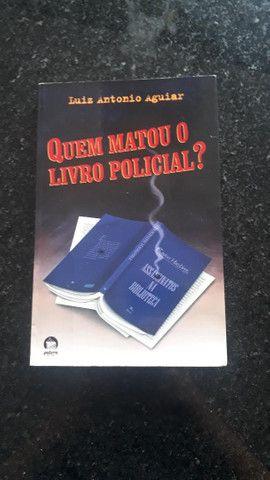 """20% OFF!! - Livro """"Quem matou o Livro Policial?"""" - 4º Edição"""