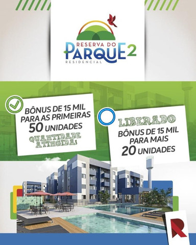 Reserva do Parque 2- Mega Desconto na Entrada + Subsídio!!!! Aproveite!
