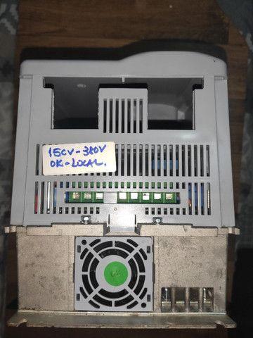 Inversor de frequência Weg CFW700 15CV 380V - Foto 4