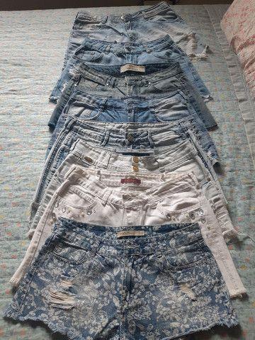 Desapego de shorts semi novos de marca: Walery, South, espaço fashion e YSC. - Foto 2