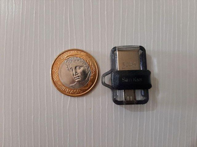 Pendrive 32gb SanDisk Ultra Dual - Foto 2