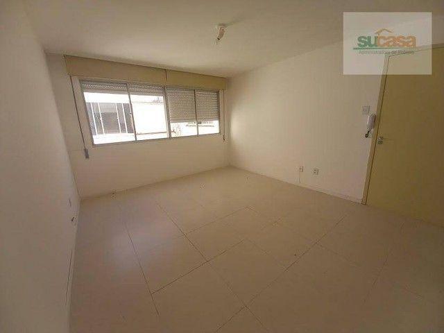 Kitnet com 1 dormitório para alugar, 42 m² por R$ 650/mês - Rua Félix da Cunha- Centro - P