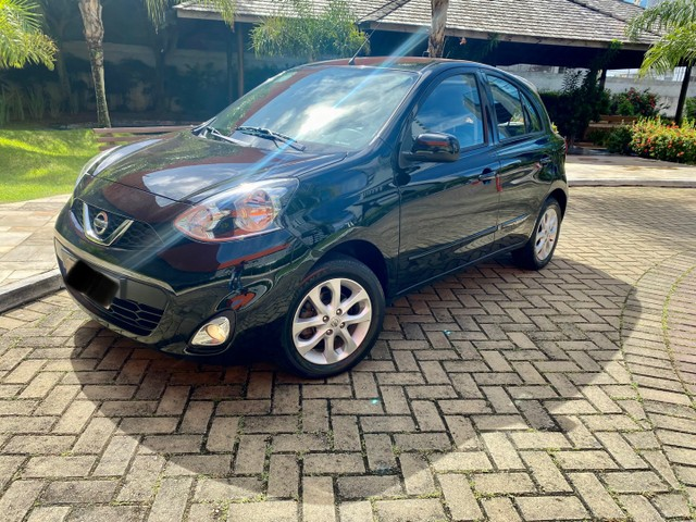 Nissan March SV 1.6, completo!!