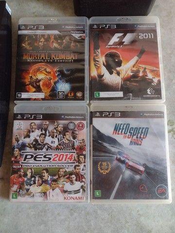 Playstation 3 Slim 160GB Black *Leia A Descrição* - Foto 3