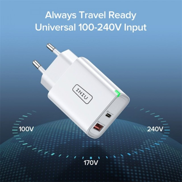 Carregador Ultra Rápido para Smartphones UNIU 20W - Foto 2
