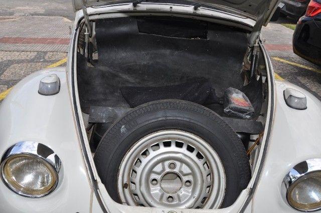 Volkswagen Fusca 79 1.300 Carro de colecionador, placa preta   Nunca foi restaurado. - Foto 3