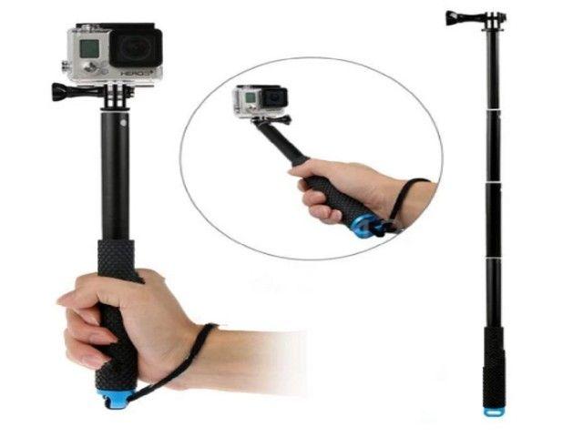 Selfie varas auto handheld telescópica pólo monopé vara