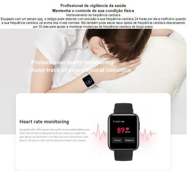 Relógio SmartWatch Amazfit Mi Watch Lite - Foto 4
