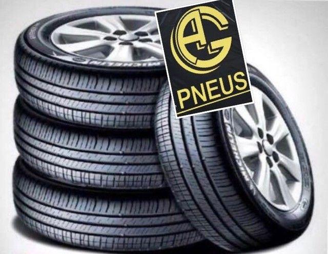 Pneu pneus qualidade única imperdível AG Pneus