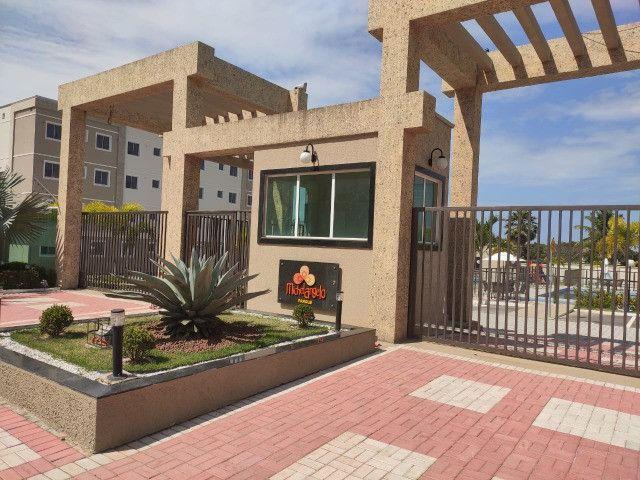 APT 128, Messejana, apartamento novo no 1º andar com 02 quartos, piscina - Foto 2
