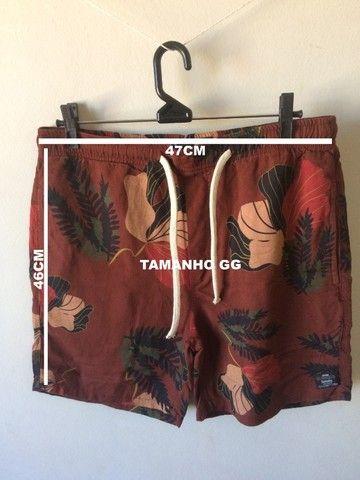 Shorts em linho - tamanho M e GG - Foto 4