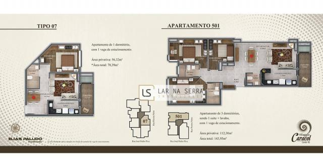 Apartamento com 2 dormitórios à venda, 105 m² por R$ 549.000,00 - Vila Suiça - Canela/RS - Foto 10