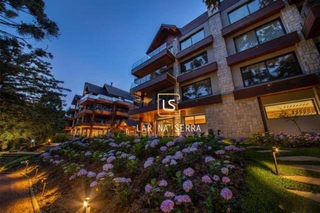 Apartamento com 3 dormitórios à venda, 506 m² por R$ 6.505.008,56 - Planalto - Gramado/RS - Foto 9
