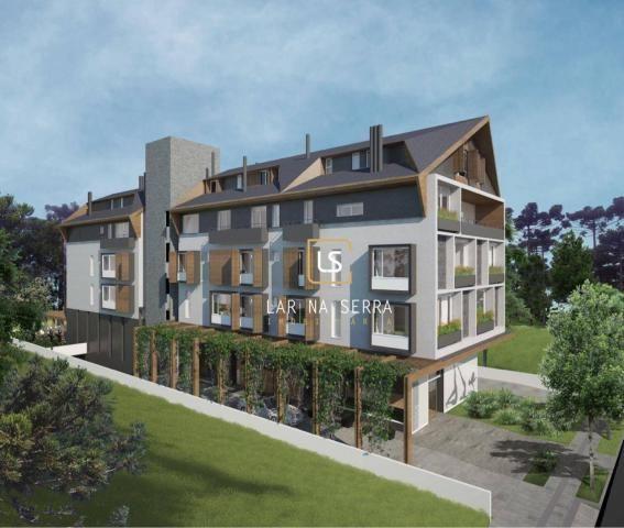 Apartamento Duplex à venda, 98 m² por R$ 524.000,00 - Celulosi - Canela/RS
