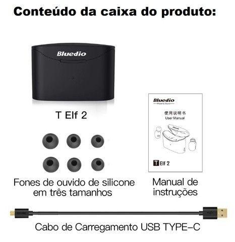 Fone Bluetooth Bluedio T-Elf 2 A Prova De Suor E Chuva (Lacrado) - Foto 4