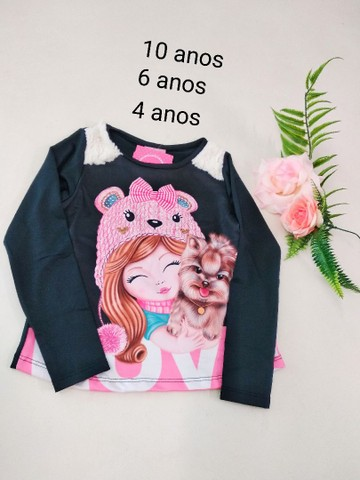 Blusas infantis - Foto 3