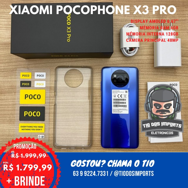 Xiaomi Poco X3 Nfc Dual Sim 128 Gb Shadow Gray 6 Gb Ram - Foto 2