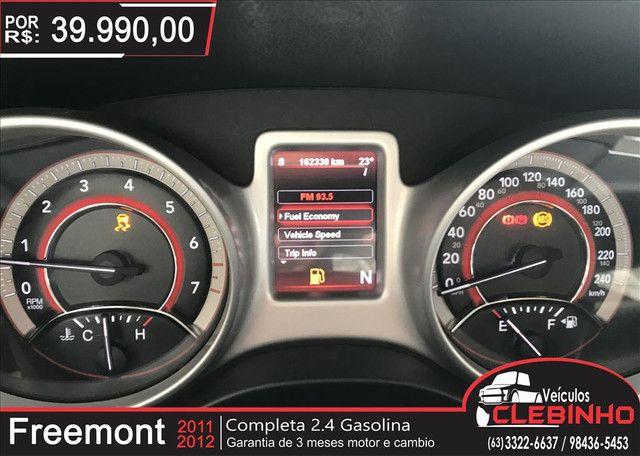 FIAT FREEMONT 2.4 EMOTION 16V GASOLINA 4P AUTOMÁTICO - Foto 10