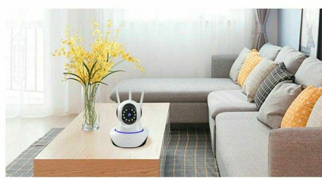 Câmera de Segurança/ Monitore sem está em casa/ Câmera IP com Visão Noturna - Foto 3