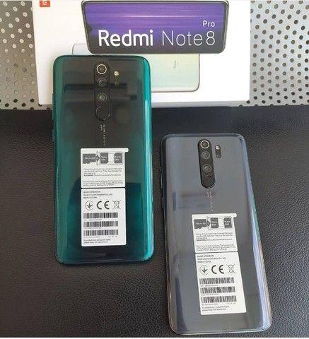 Xiaomi Redmi Note 8 Pro 10X S/Juros 128GB/6Ram/1 Ano de Garantia/MediaTek Helio G90T/64MP