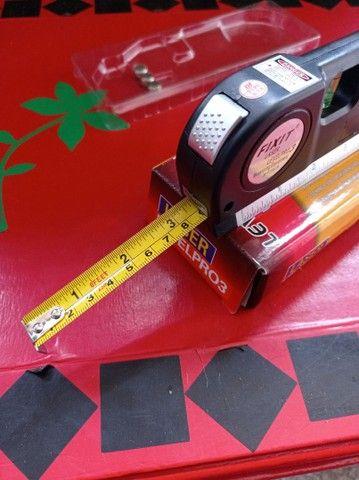 Nível a laser,trena e nível de mesa - Foto 3