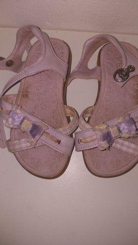 Sapato de criança sapatilha sandalia rasteira