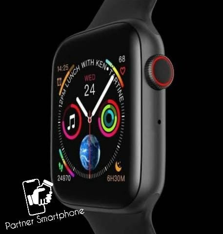 Pronta Entrega Original Relógio Smartwatch Iwo 8 Lite 44mm Fit Bluetooth Ios Android - Foto 3