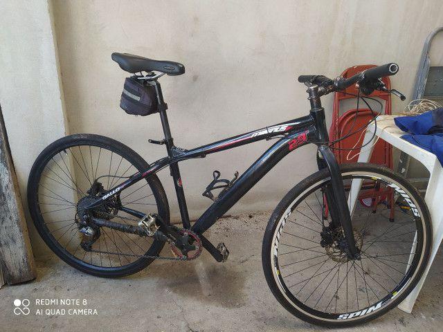 Bike urbana aro 700 freio hidráulico - Foto 2