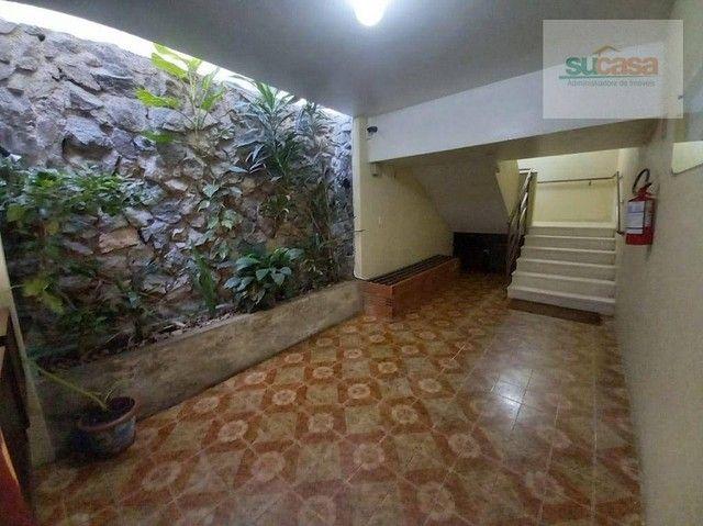 Apartamento com 2 dormitórios para alugar, 85 m² por R$ 800/mês - Rua Andrade Neves- Centr - Foto 3