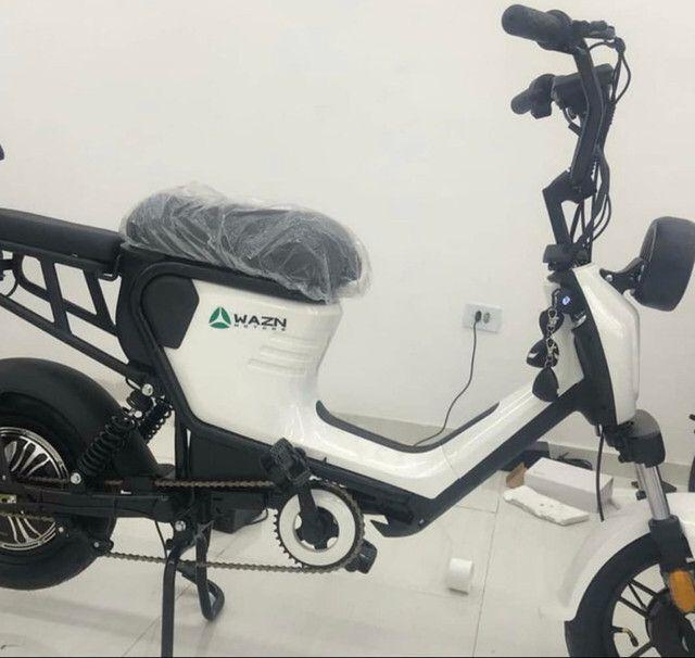 Mini bicicleta moto elétrica 350w em ate 10x sem juros só Zap