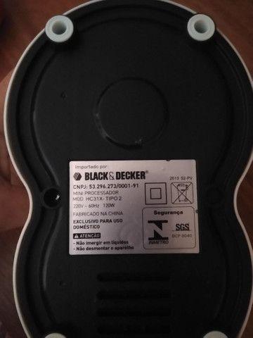 Mini Processador Black Decker  - Foto 3