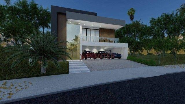 Sobrado com 4 dormitórios à venda, 615 m² por R$ 1.899.000,00 - Condomínio do Lago - Goiân - Foto 6