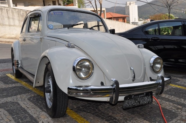 Volkswagen Fusca 79 1.300 Carro de colecionador, placa preta   Nunca foi restaurado.