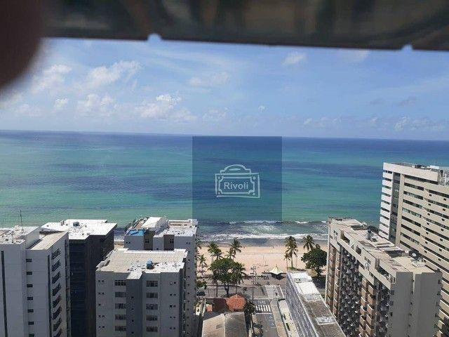 Apartamento com 1 dormitório para alugar, 40 m² por R$ 2.000/mês - Boa Viagem - Recife/PE - Foto 19