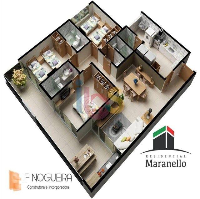 Apartamento 3/4 no Residencial Maranello - Foto 7