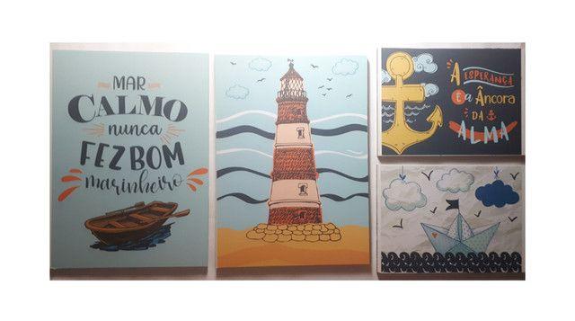 Kits de Placas Decorativas - Temas variados