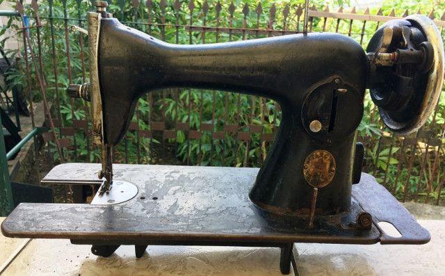 Cabeçote de máquina de costura Alfa, usada, no estado