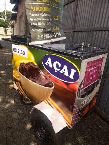 carrinho de açaí - Foto 2