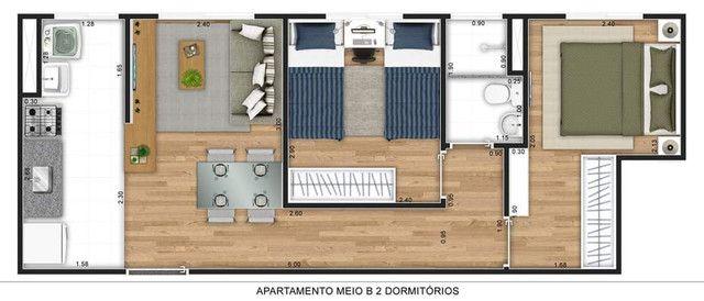 Apartamento em construção Jardim Europa em Hortolândia  - Foto 9