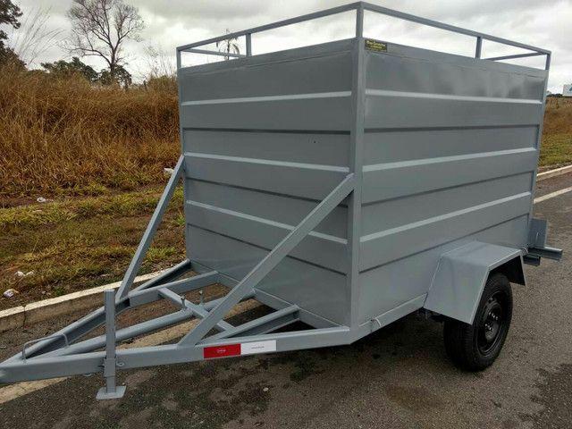 Carretinha transporte cargas - Foto 2