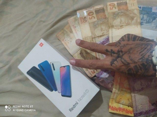 Redmi Note 8 T  Novo sem marcas de uso Perfeito  - Foto 2