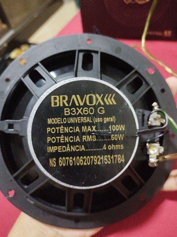 Auto falante bravox B3X60 G triaxial 6 - Foto 2