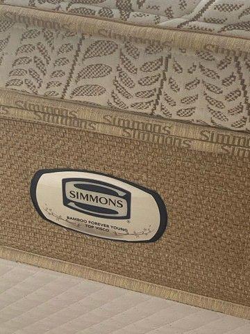 Colchão king simmon