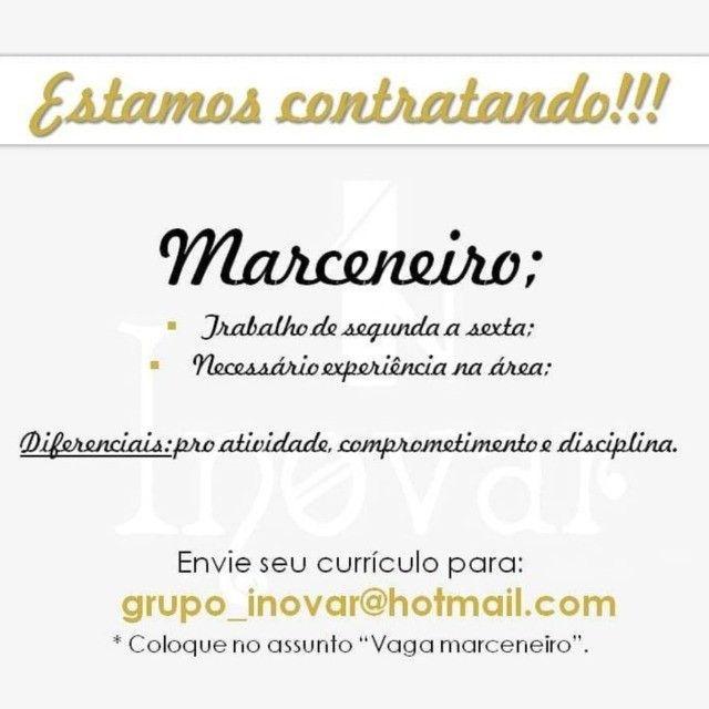 Contrata-se Marceneiro